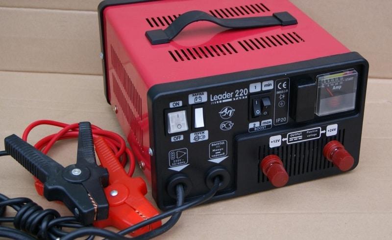 Пуско-зарядное устройство для автомобильных аккумуляторов