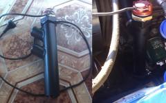 электрический предпусковой подогреватель двигателя