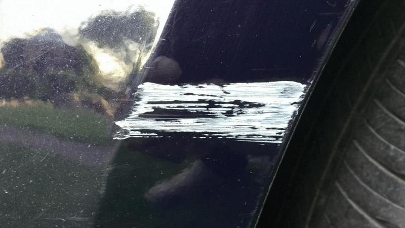 Удаление царапин на пластиковом бампере своими руками фото 8