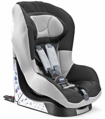 Детское кресло в машину с системой крепления isofix