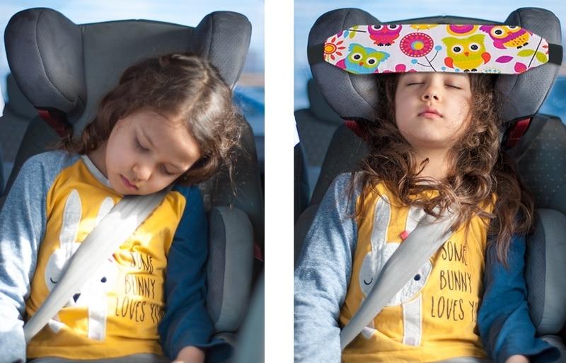 повязка для сна ребенка в машине