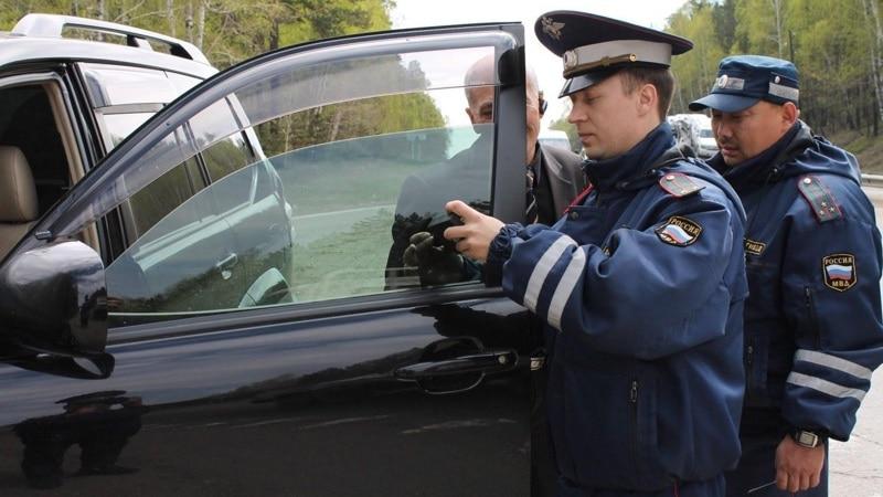 Проверка тонировки инспектором