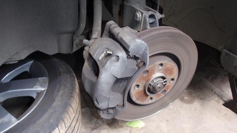 Внешний вид дисковых тормозов