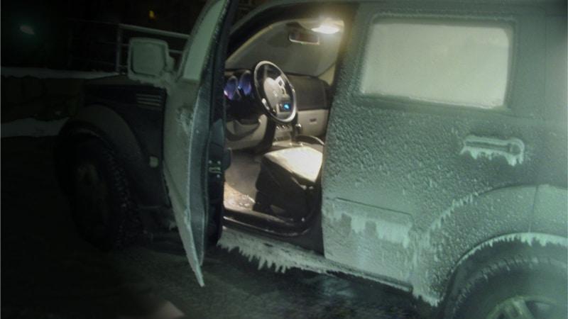 в мороз машина не заводится