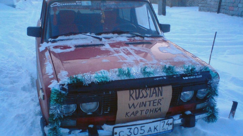 утепление двигателя на зиму