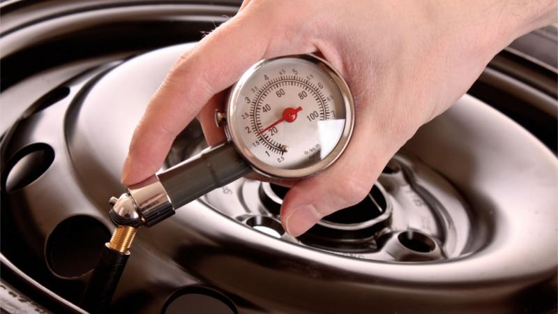 давление в шинах зимой