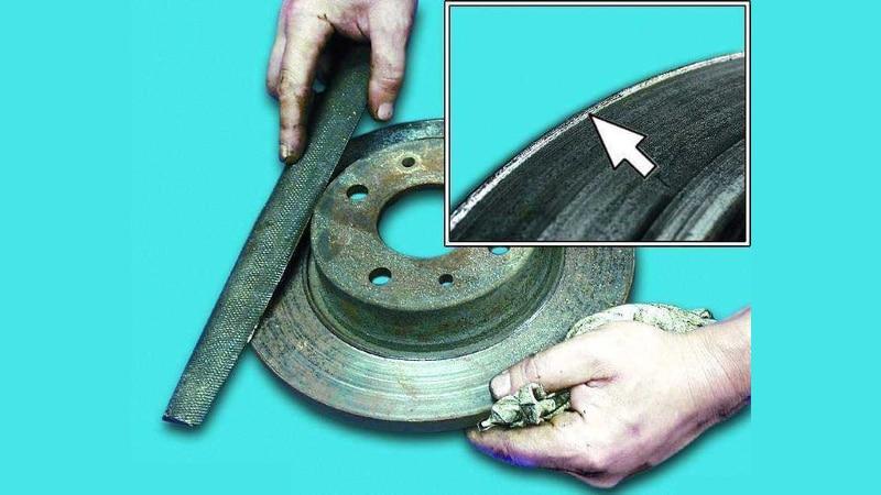 как избавиться от скрипа тормозов