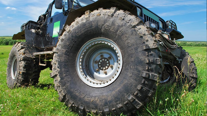 как увеличить клиренс за счет установки больших колес