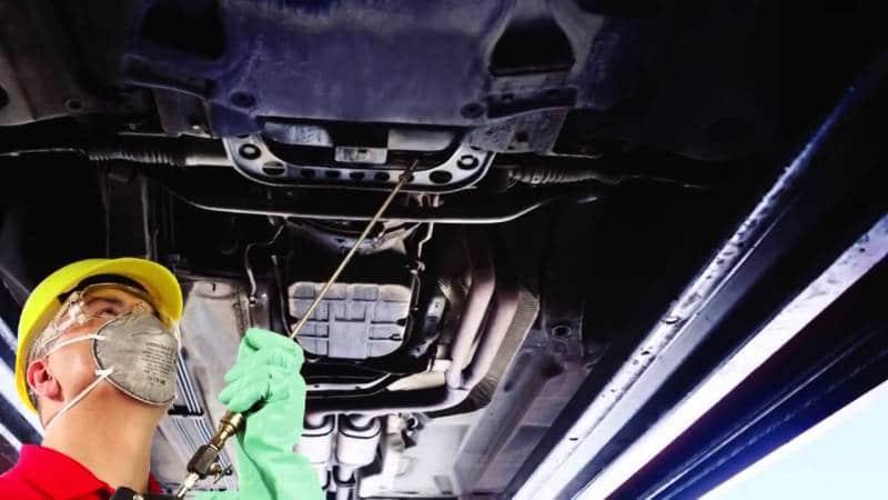 Антикоррозионная обработка скрытых полостей кузова автомобиля