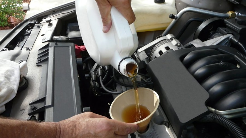 повышенный расход масла в двигателе