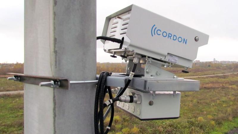 Стационарный радар ГИБДД
