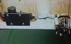 как установить электропривод замка багажника