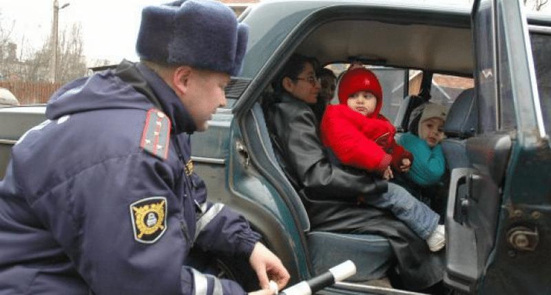 где платят штраф за отсутствие детского кресла