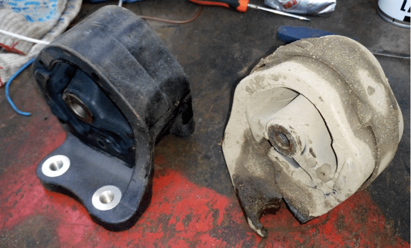 каким образом проверить подушки двигателя