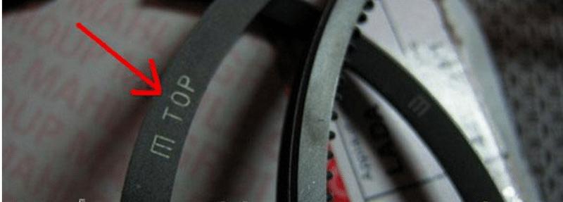 каким образом нужно правильно установить поршневые кольца