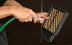 как делается установка воздушного фильтра