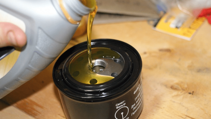 Замена масла на приоре своими руками