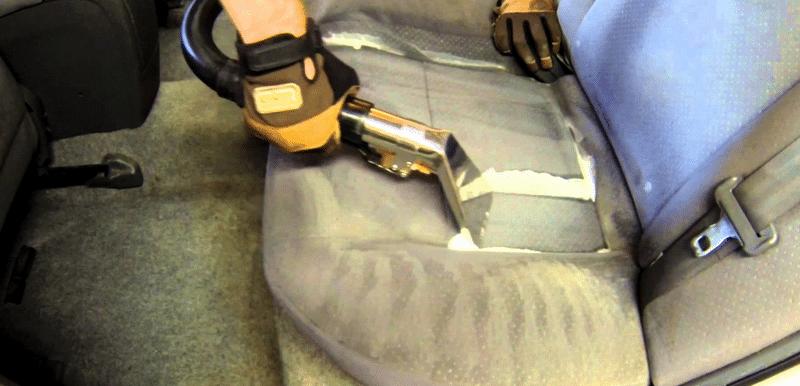 как делается химчистка салона своими руками