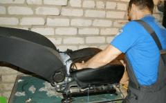 как надеть новые чехлы на сиденья автомобиля