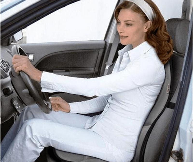 как работает массажная накидка на автомобильное кресло