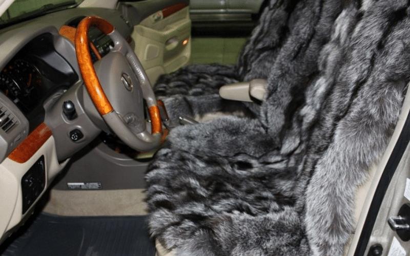 как выглядят меховые накидки из овчины на сиденья автомобиля
