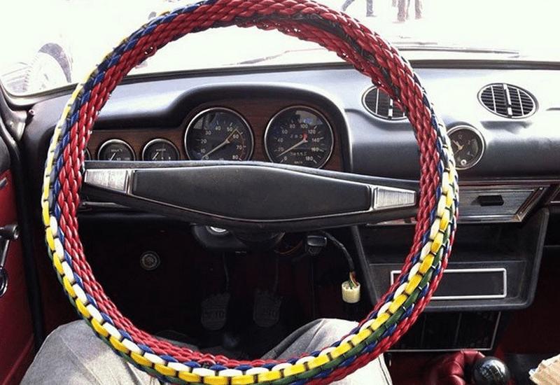 как сделать оплетку из проволоки на руль своими руками