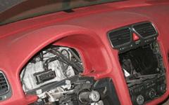 как делается перетяжка салона автомобиля кожей своими руками
