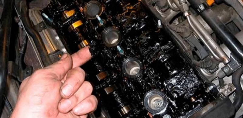 быстрая промывка двигателя при замене масла