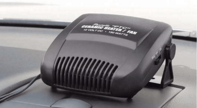 зачем нужен тепловентилятор автомобильный от прикуривателя