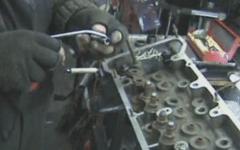 как быстро заменить направляющие втулки клапанов