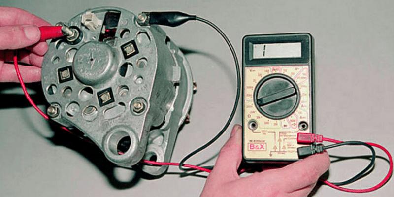 каким образом проверить генератор на машине не снимая