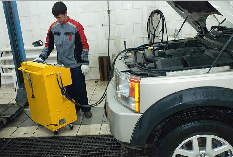 как заливать масло для автоматической коробки передач