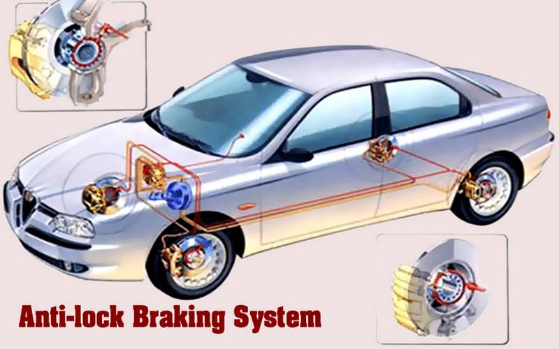 как работает АБС на легковом автомобиле