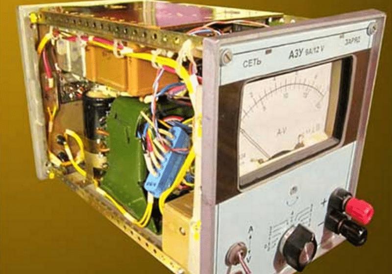 как собирается схема самодельного зарядного устройства для автомобильного аккумулятора