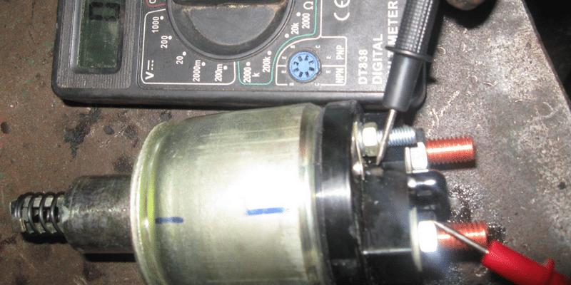 как делать ремонт втягивающего реле стартера своими руками