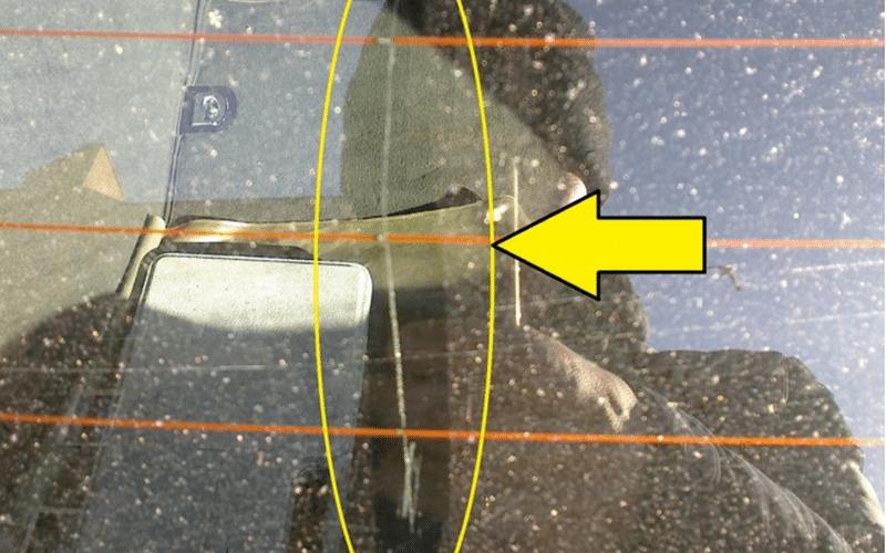 как быстро восстановить обогрев заднего стекла