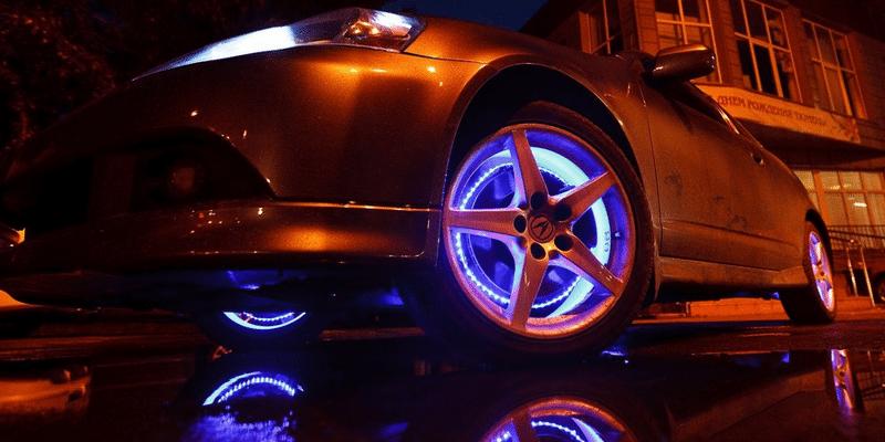 Подсветка автомобиля своими руками
