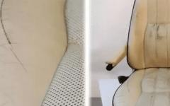 как делается ремонт кожаных сидений автомобиля своими руками