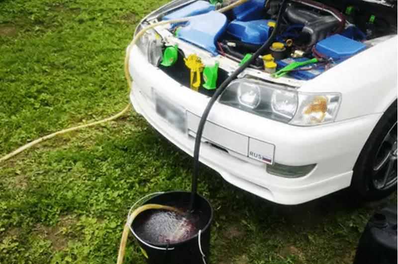 чем быстро промыть радиатор печки автомобиля в домашних условиях