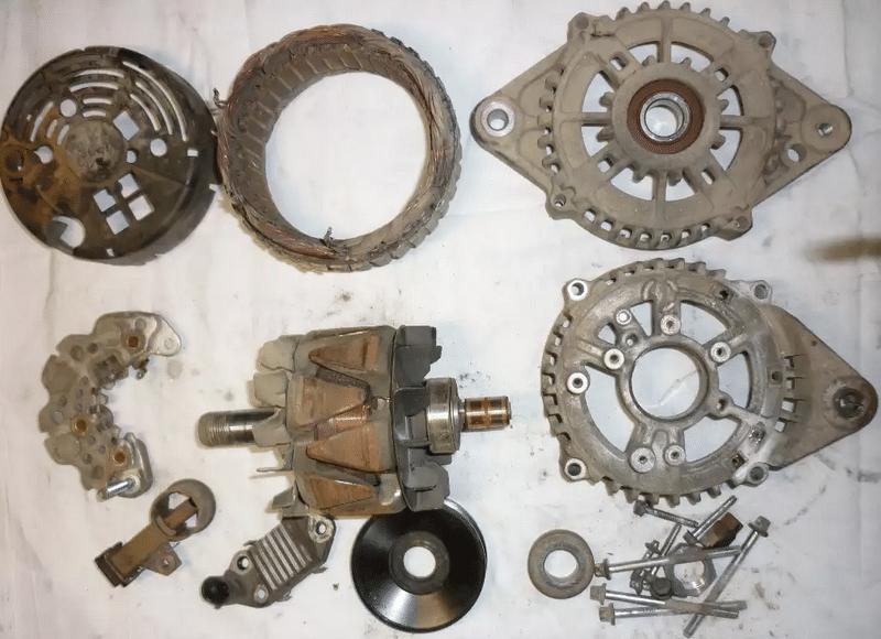 как делать ремонт автомобильного генератора