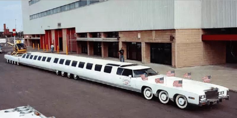 где изготовлен самый длинный автомобиль в мире и какая его длина
