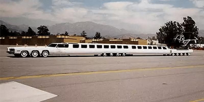 сколько метров длина самого длинного автомобиля