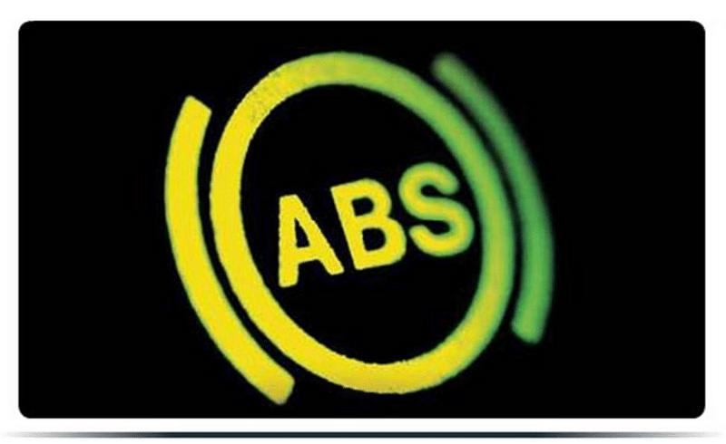 какие проблемы, если загорается лампочка АБС при движении