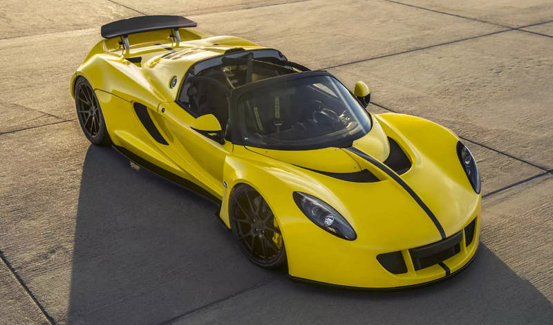 какая известная машина самая быстрая в мире