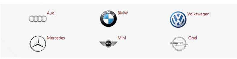 где найти список марок немецких автомобилей