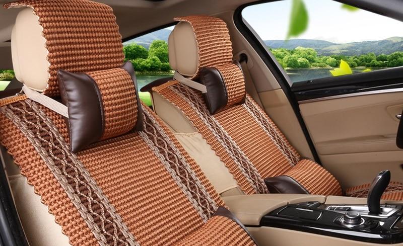 Кожаные чехлы на сиденье автомобиля