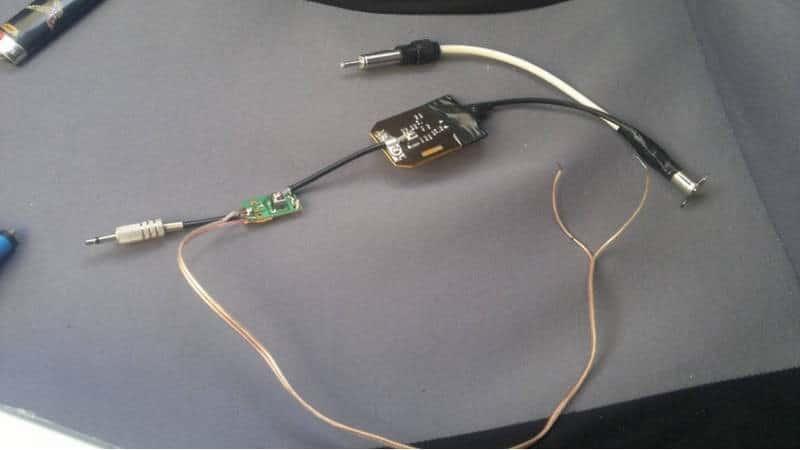 Автомобильная ТВ антенна своими руками