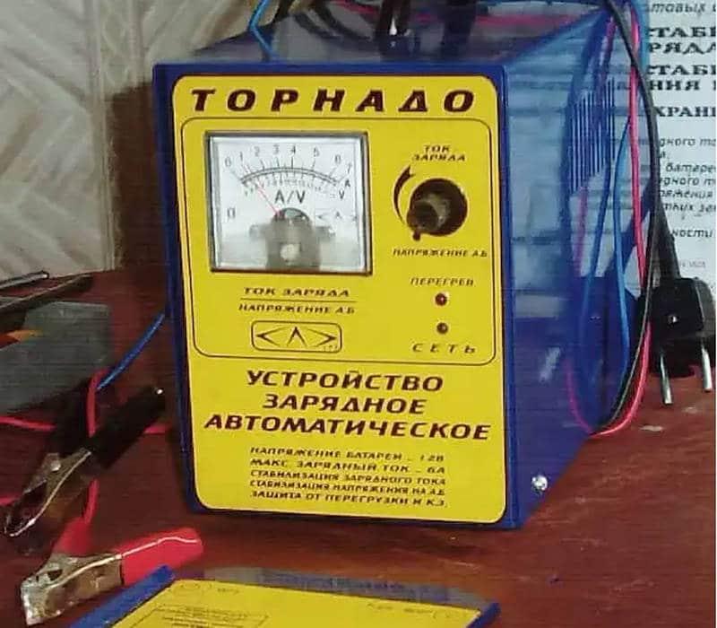 как работает импульсное зарядное устройство для автомобильного аккумулятора