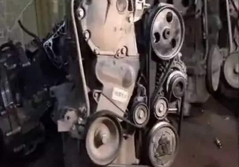 как проводится замена ремня генератора на приоре