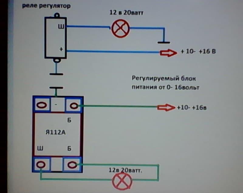 Проверить реле регулятор генератора